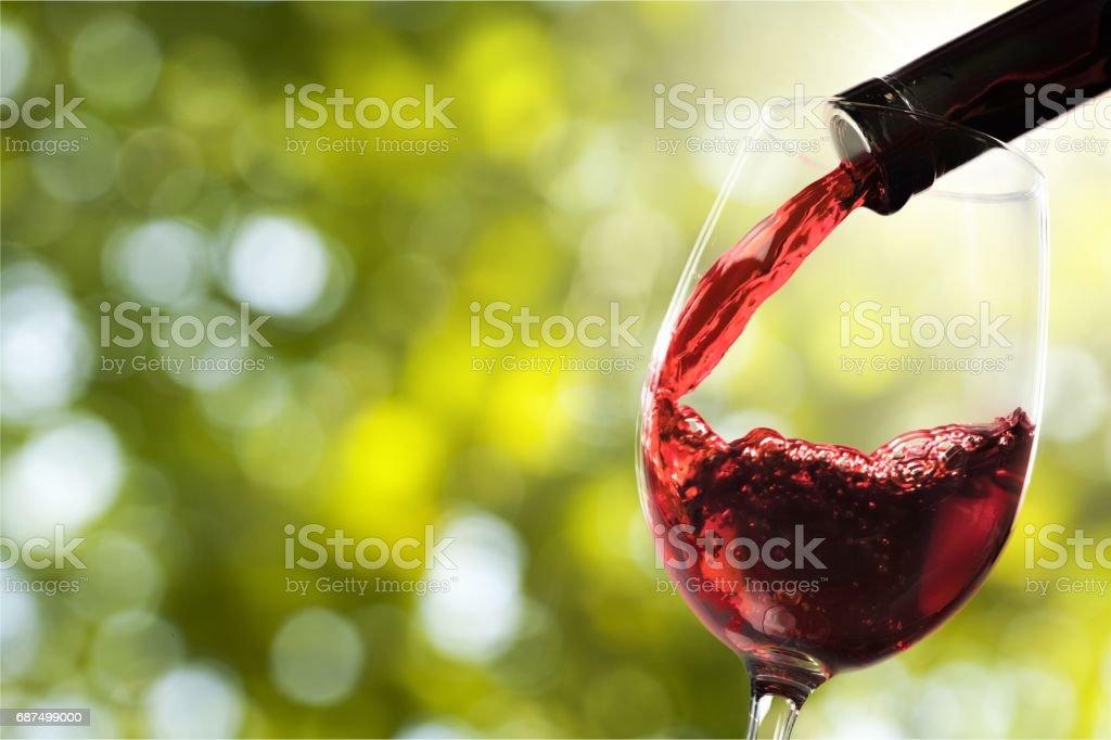 Wine. stock photo