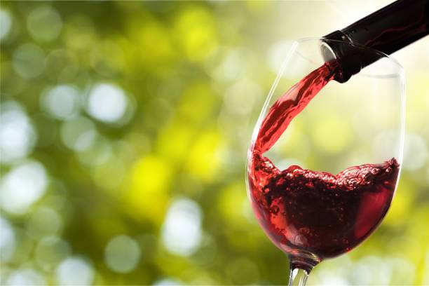 Wine. Red wine and glass on background winetasting stock pictures, royalty-free photos & images