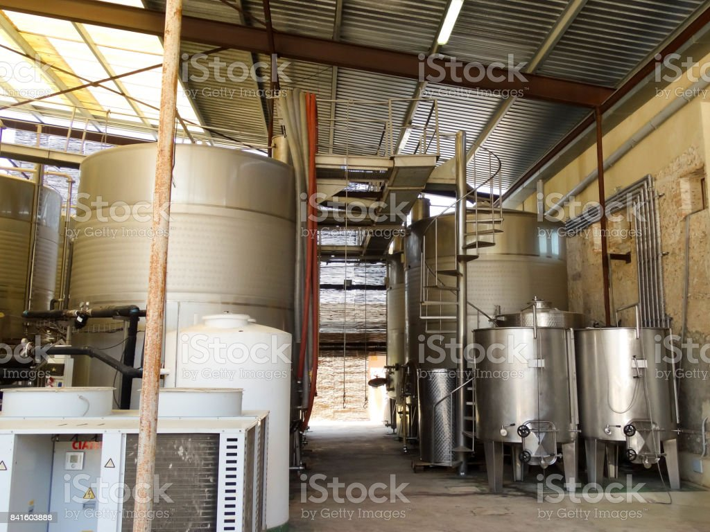 Wine Processor 2 stock photo