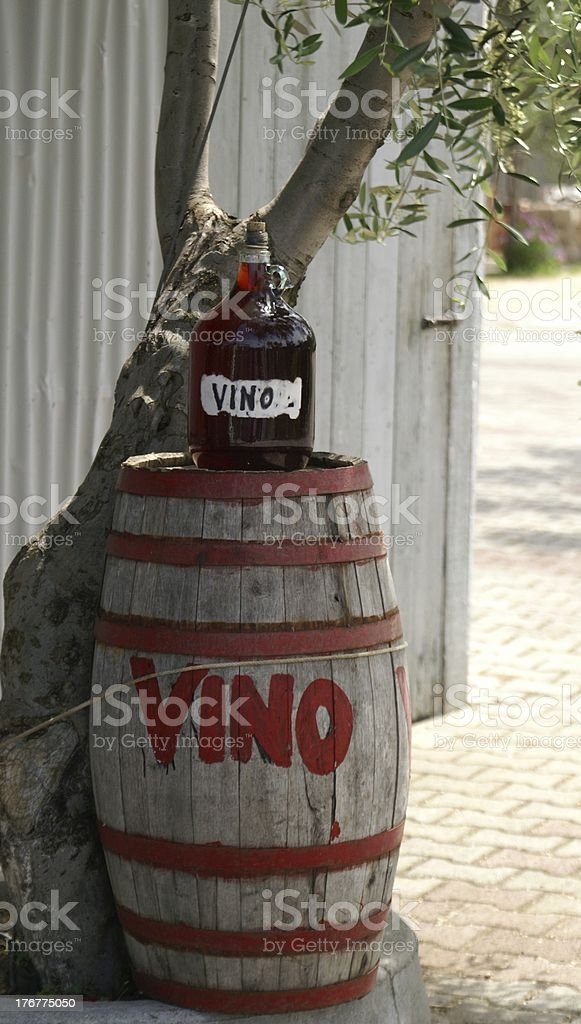 Wine shop in Puglia royalty-free stock photo