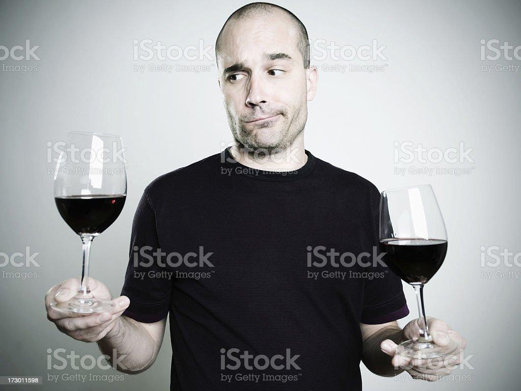 wine taster royalty-free stock photo