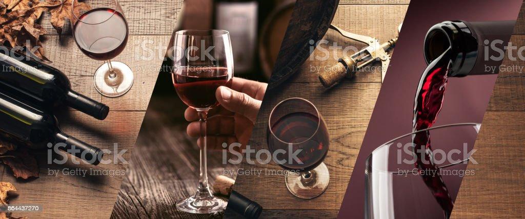 Weinprobe und Weinbereitung – Foto