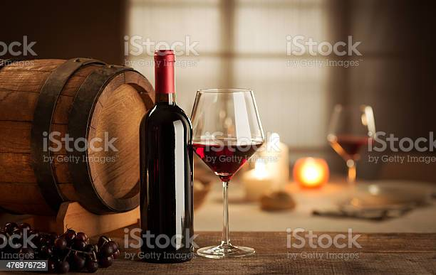 Wine Tasting At Restaurant Stock Photo - Download Image Now