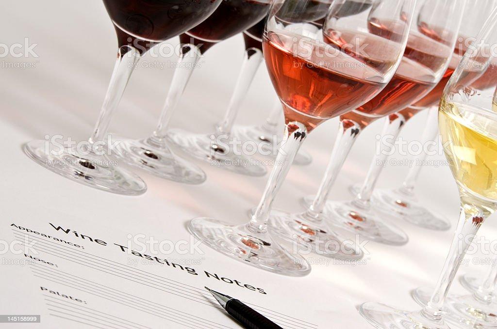 Wine Tasting royalty-free stock photo