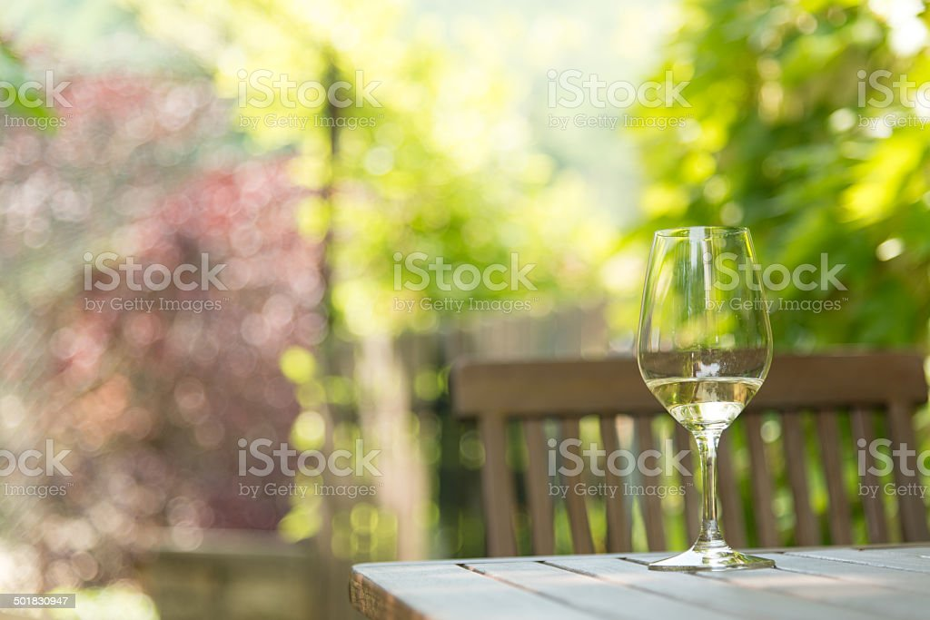 Wine tasting stock photo