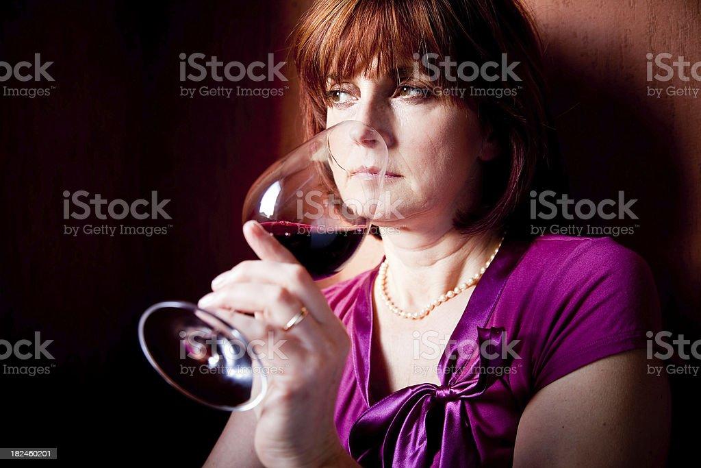 Degustación de vinos por placer foto de stock libre de derechos