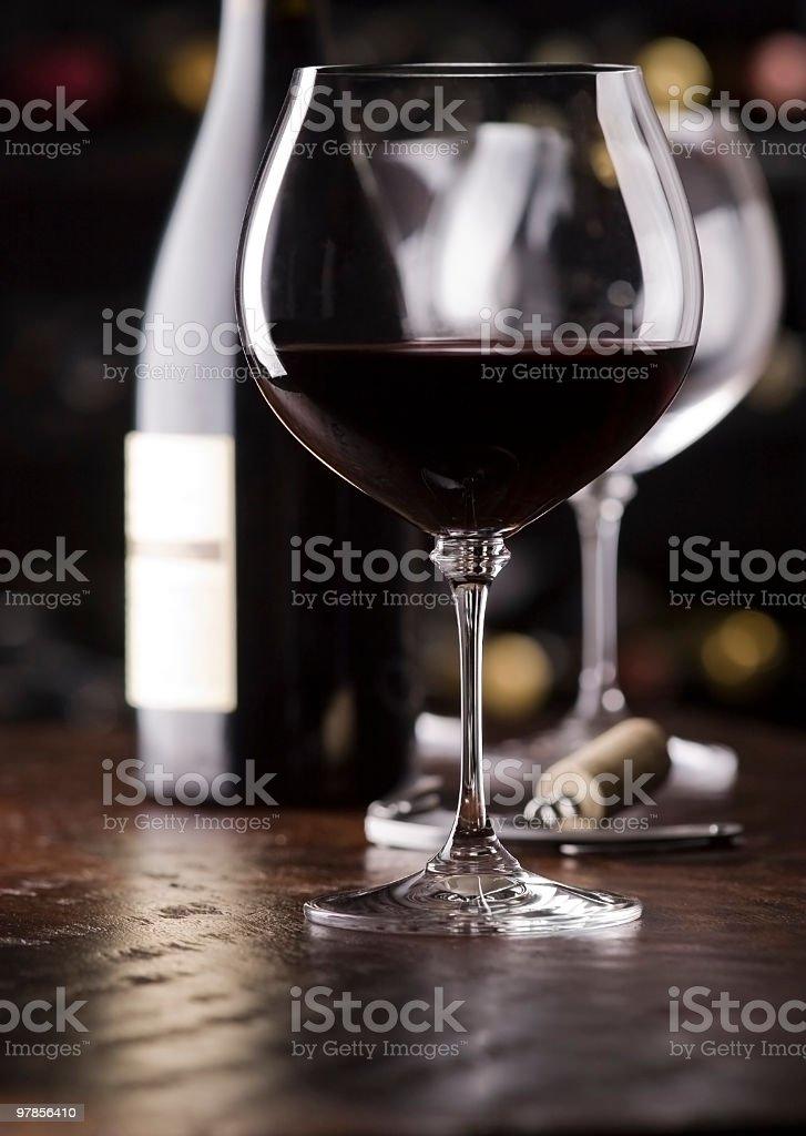 Wine Tasting Scene royalty-free stock photo