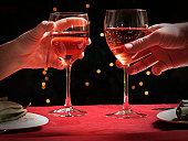 istock Wine Toast Glasses 122194541