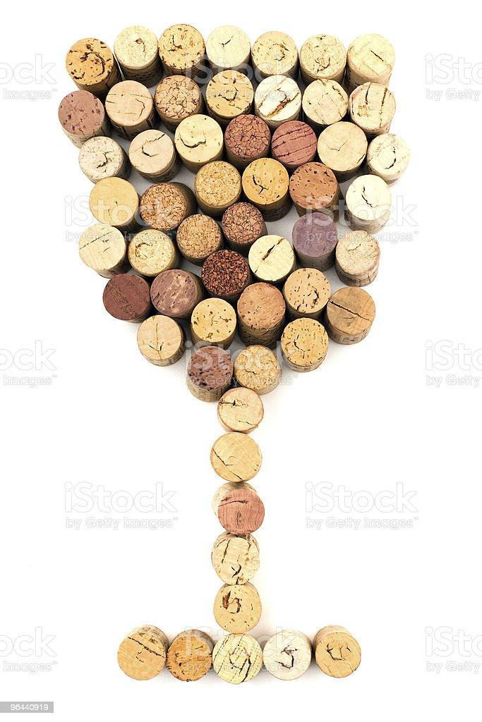 Wineglass stock photo