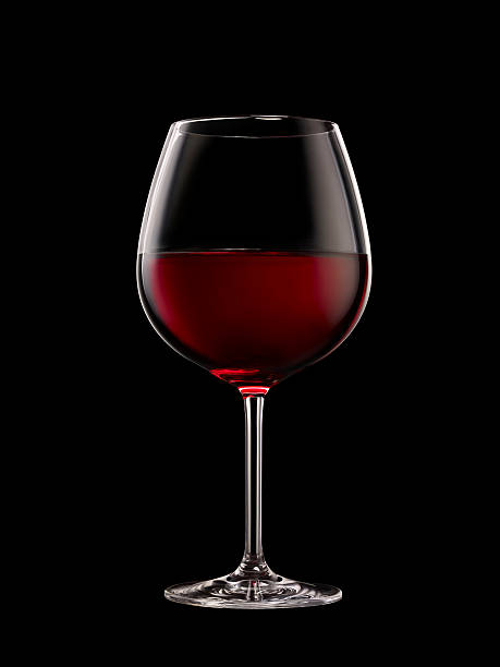 wineglass xxxl - wine glass stock photos and pictures