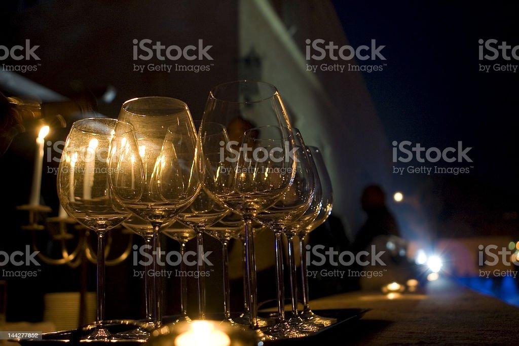 Wineglasses royalty-free stock photo