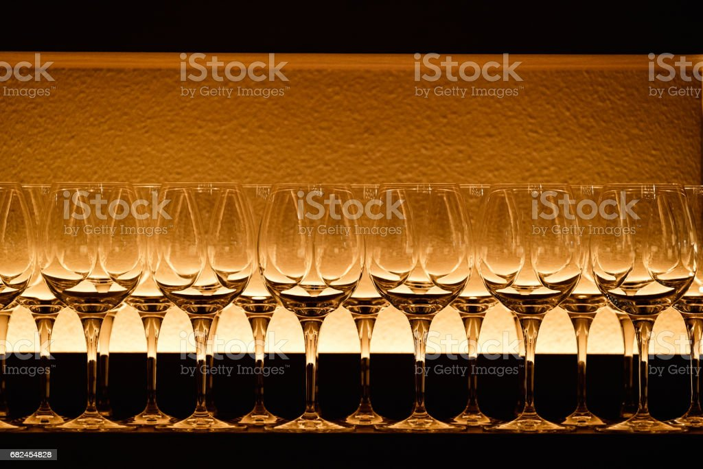 Wineglasses royalty-free stock photo
