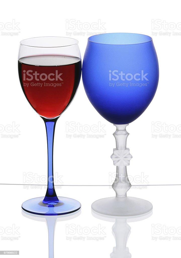 wineglasses royalty free stockfoto