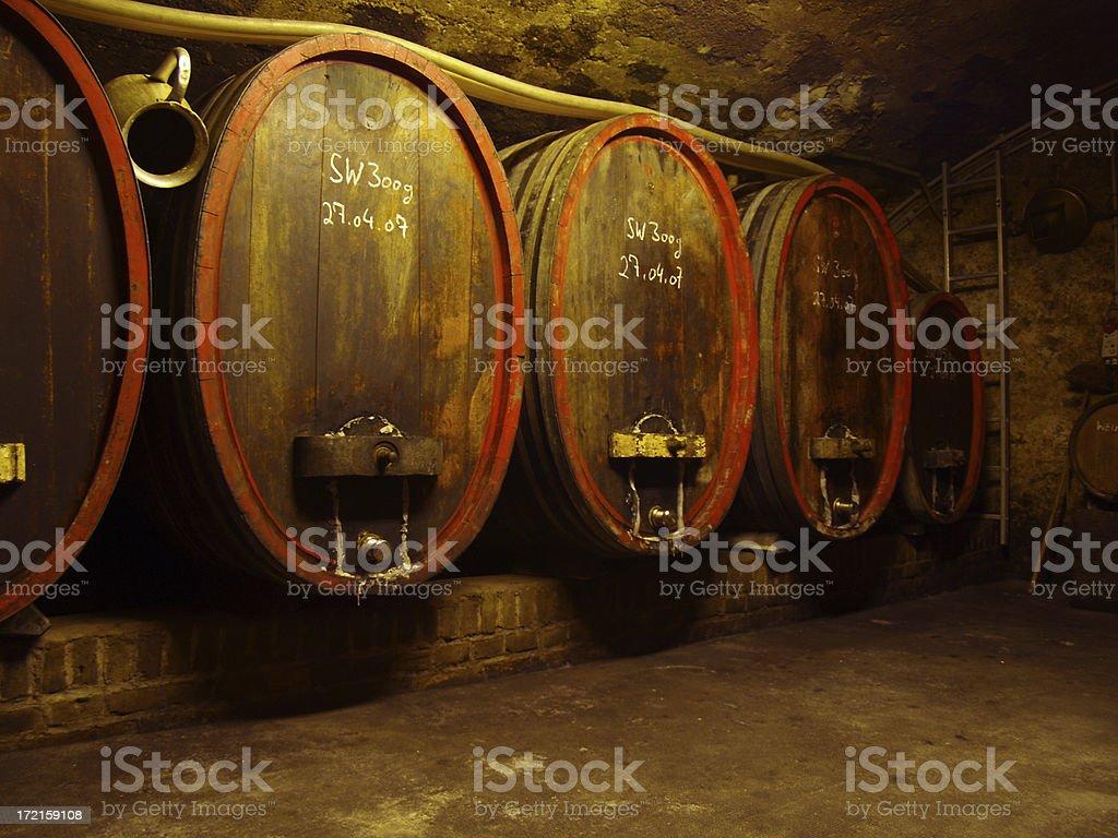 winemaker cellar royalty-free stock photo
