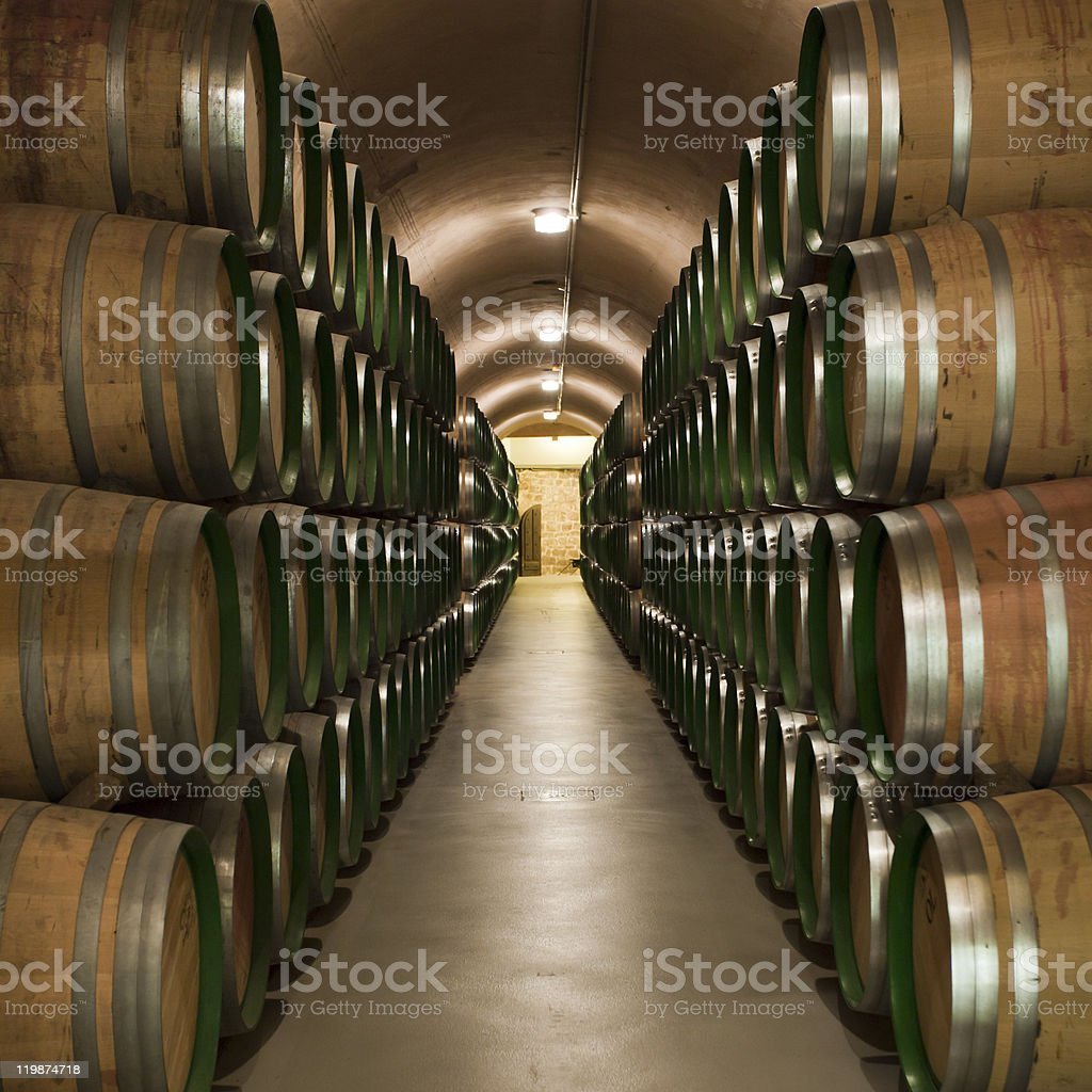 Wineries royalty-free stock photo