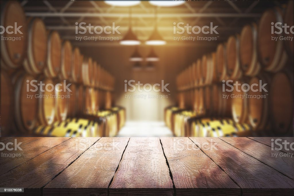 Winery and beverage concept stock photo