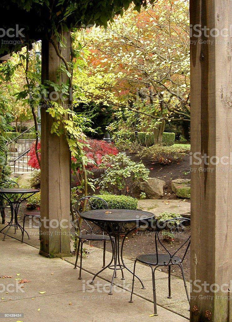 Winery Gardens royalty-free stock photo