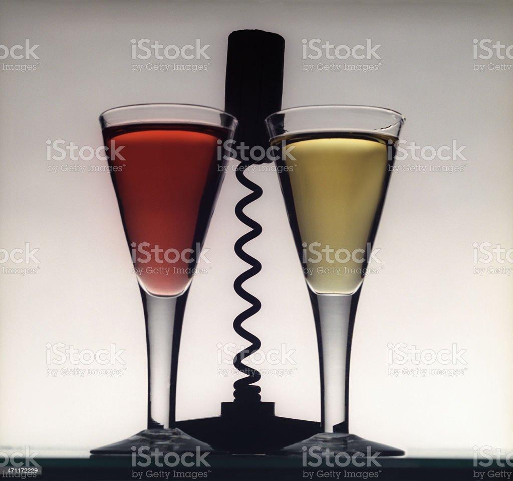 Wines royalty-free stock photo