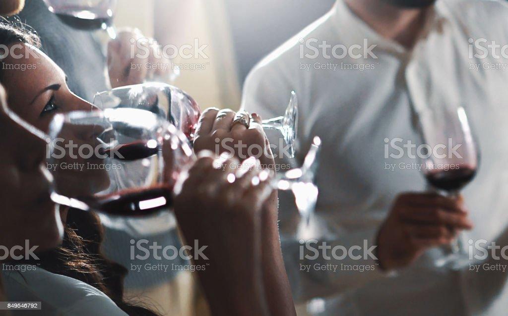 Weinprobe. – Foto