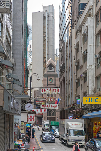 Wing Lok Sheung Wan Stock Photo - Download Image Now