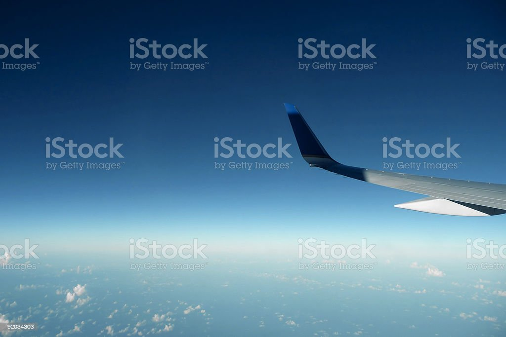wing tip royalty-free stock photo