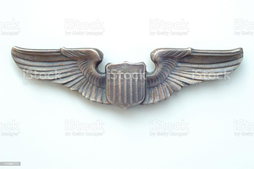 Winged Insignia royalty-free stock photo