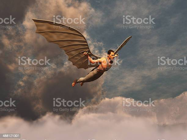 Winged man flying picture id488121301?b=1&k=6&m=488121301&s=612x612&h=tefyu5d padd728ygx4jrbpezz0mug ou5jalbbwosu=