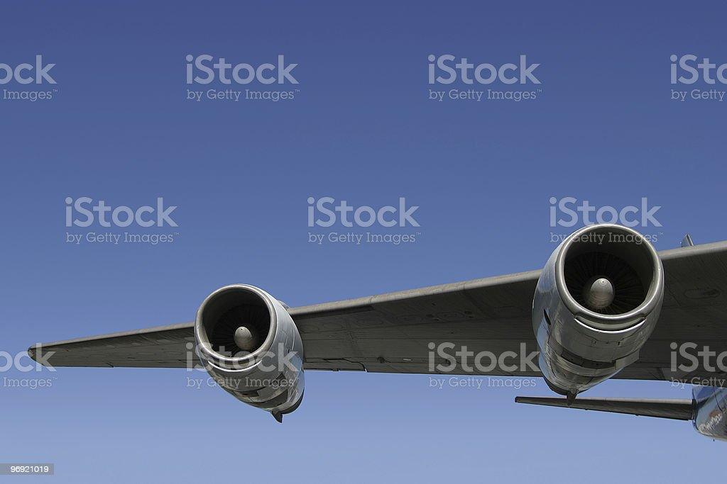 Winging It royalty-free stock photo