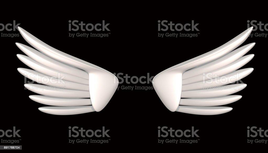 Wings 3d renderizado - foto de stock