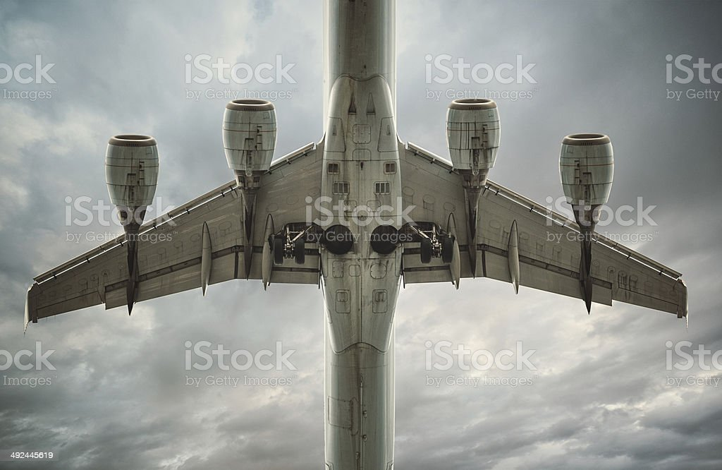 Wings Above stock photo