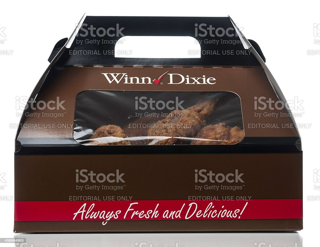 Winndixie Chicken Take Out Box Stock Photo More Pictures of Animal