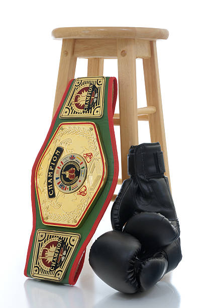 winner and still champion - belt stock photos and pictures