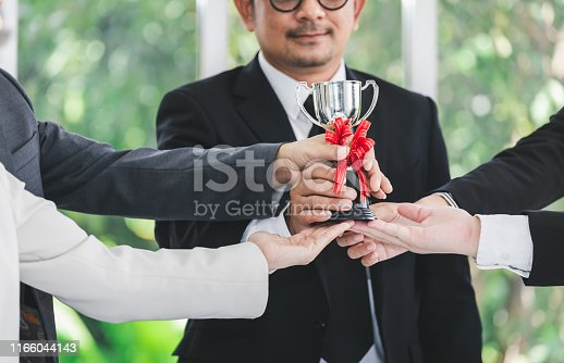 istock Winner business team 1166044143