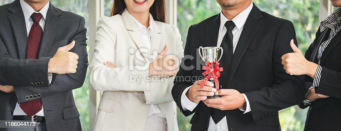 istock Winner business team 1166044173