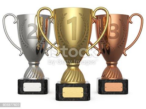 istock Winner championship 1, 2, 3 925377622