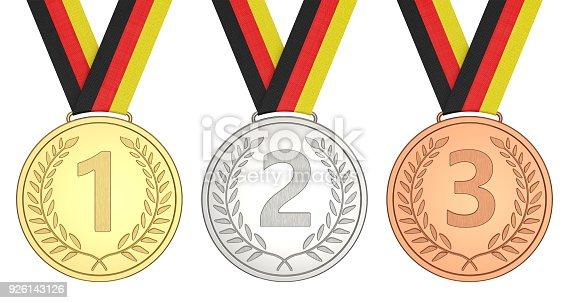 istock Winner championship 1, 2, 3 926143126