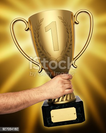 istock Winner championship 927054182