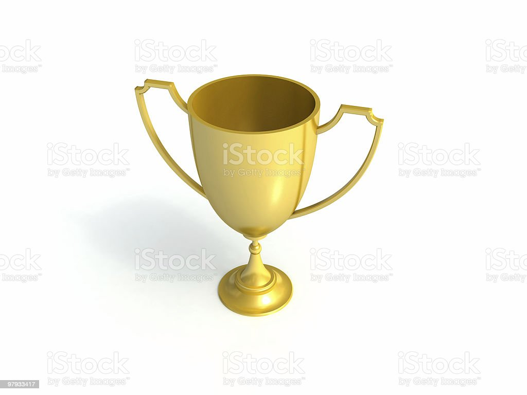 Winner cup royalty-free stock photo