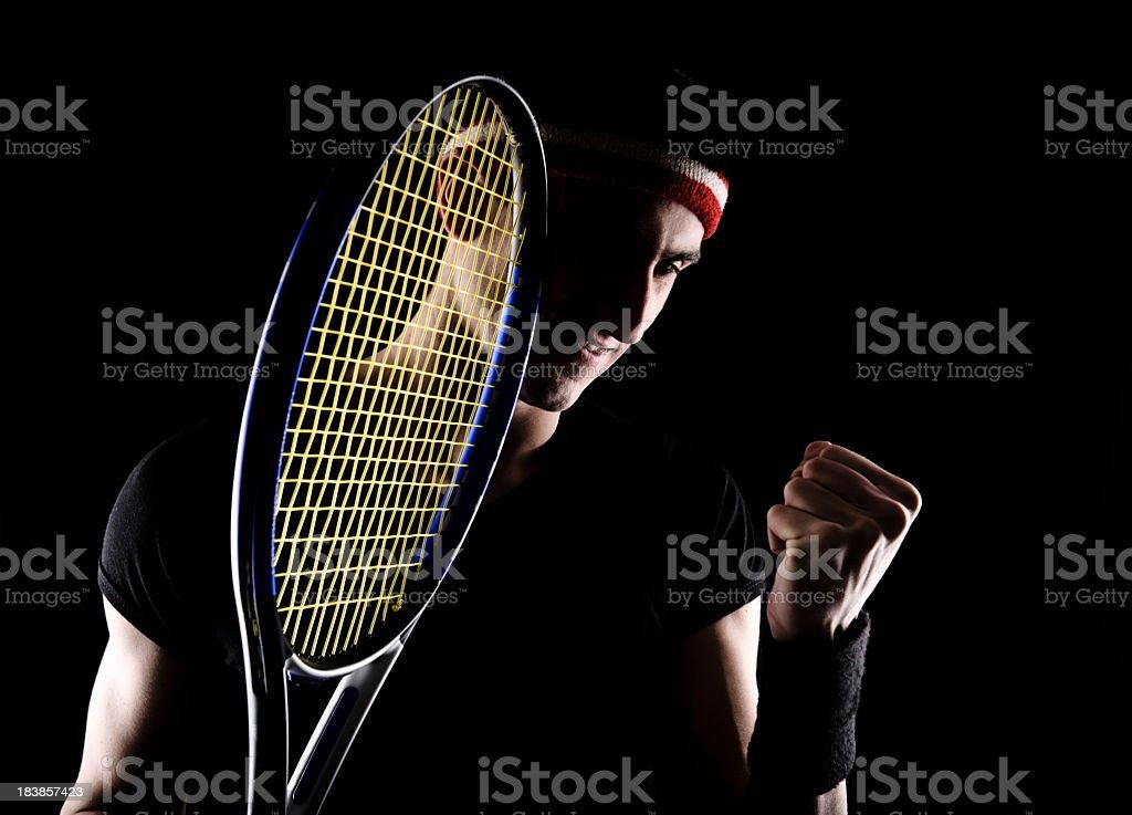 winner tennis royalty-free stock photo
