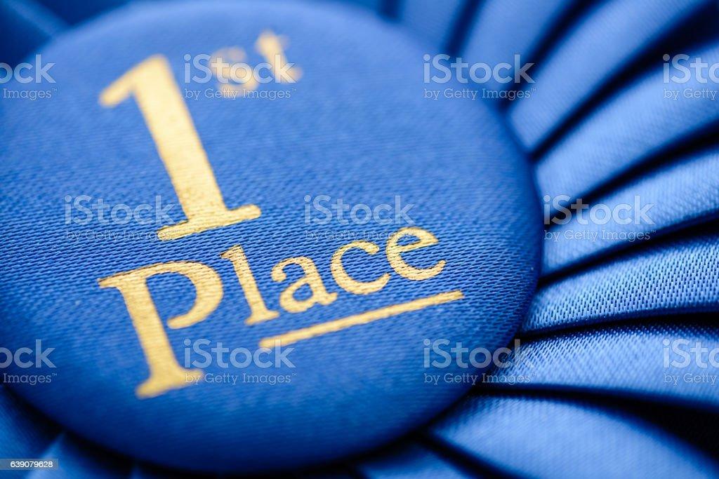 Winners blue first place rosette – Foto