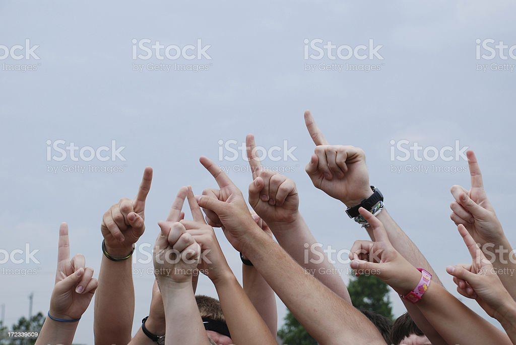 Winners, one and all royalty-free stock photo