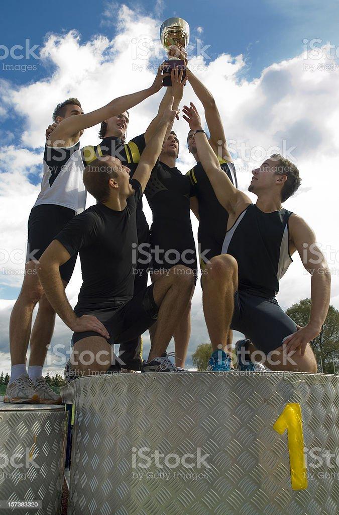 Winners stock photo