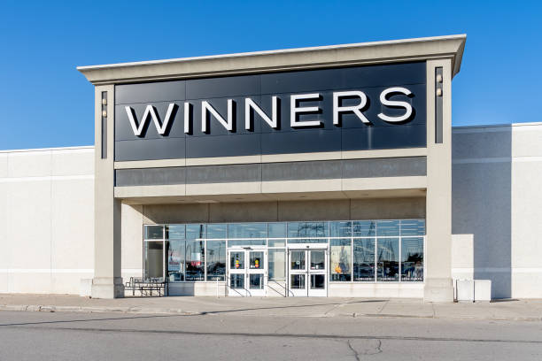 Winners store in Richmond Hill, Ontario,Canada stock photo
