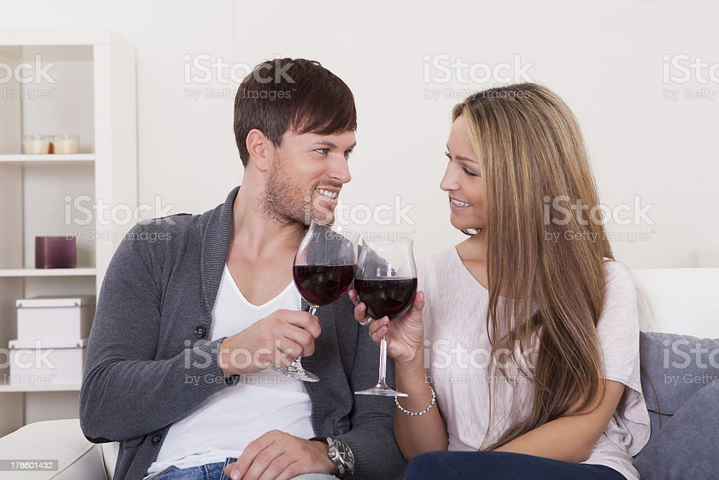 Winners tossed red wine royalty-free stock photo
