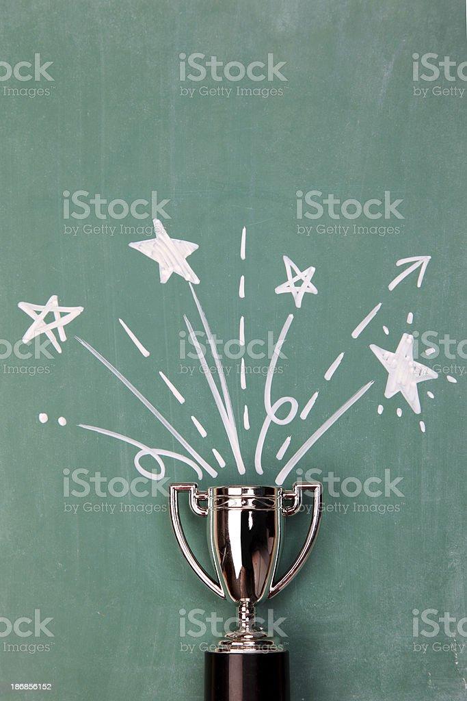 Winners Trophy stock photo
