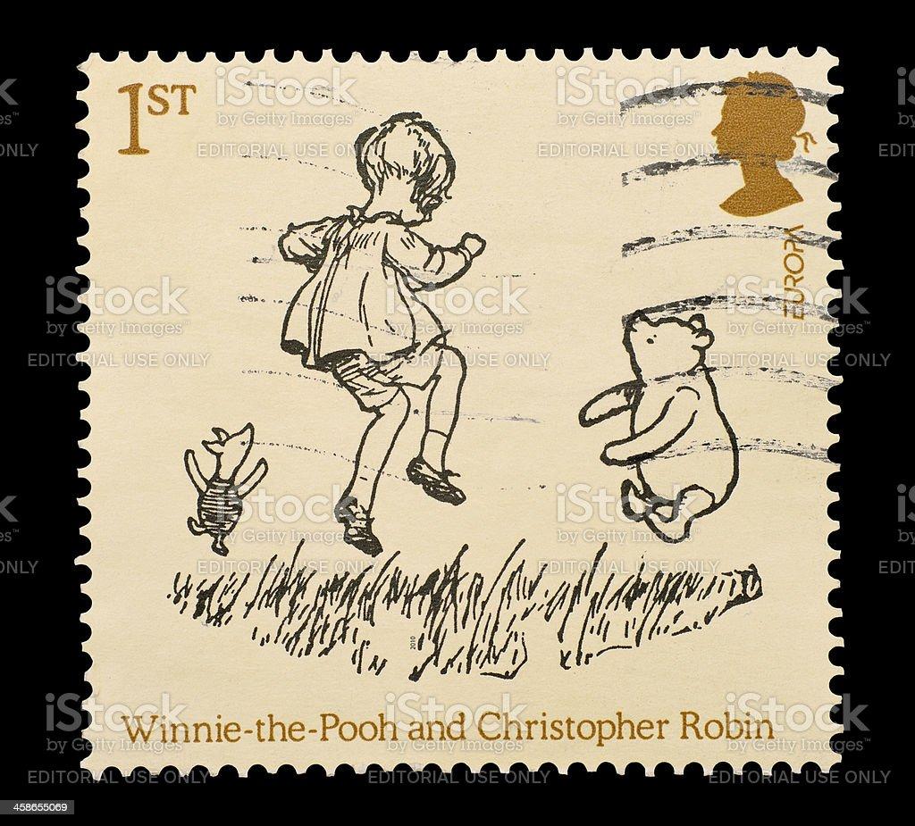 Winnie The Pooh stock photo