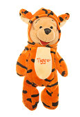 Winnie-the-Pooh Teddy Bear in Tigger Costume