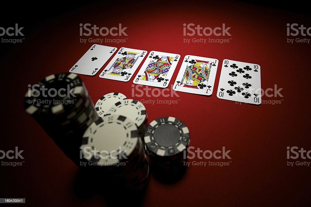 Winning Hand... royalty-free stock photo