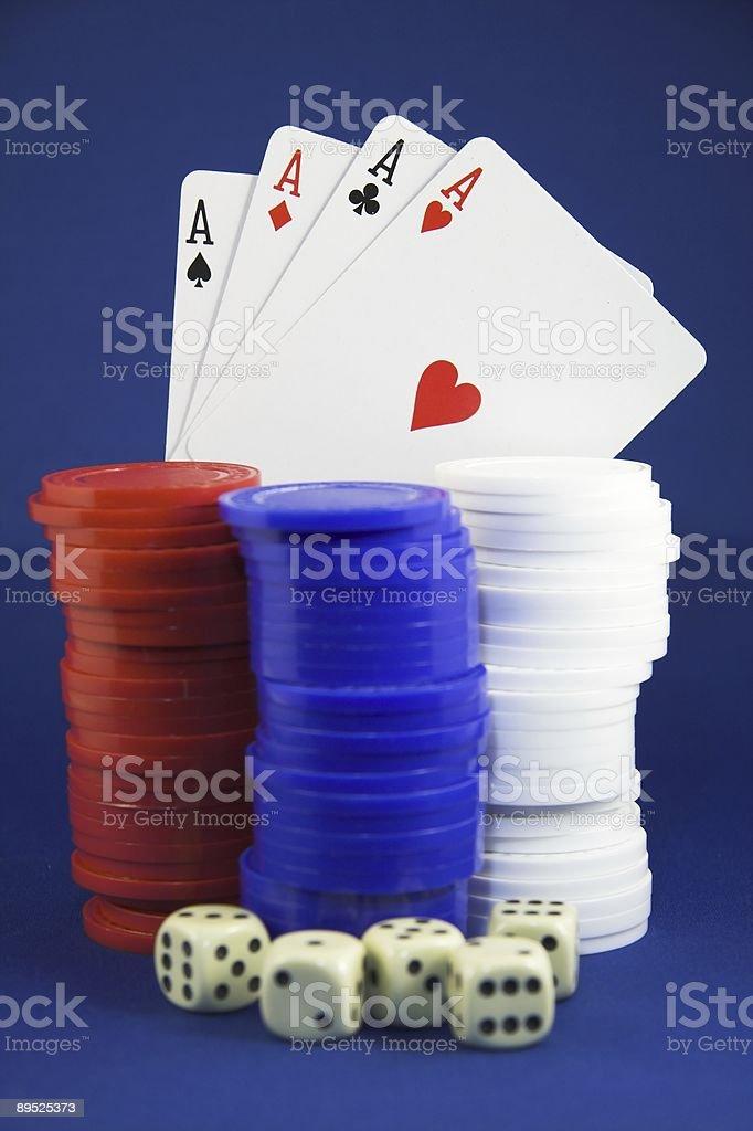 Winning hand royalty-free stock photo