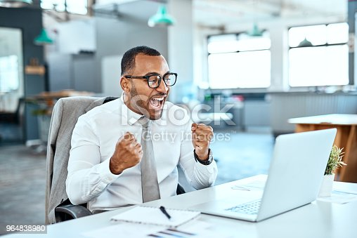 istock Winning is what I do! 964838980
